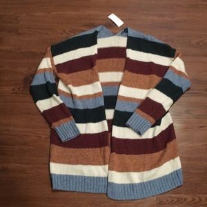 NWT American Eagle Striped cardigan szM